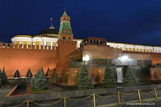 Photographie du mausolée de Lénine