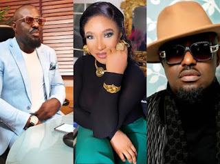 Tonto Dikeh Celebrates Jim Iyke On His Birthday