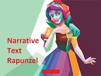 Contoh Narrative Text Rapunzel