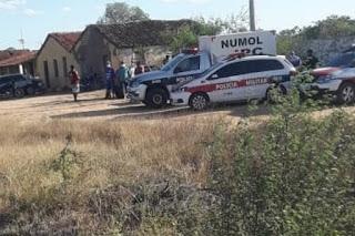 Filho de agricultor é assassinado a tiros nesta segunda-feira (07) na ZR de cidade sertaneja
