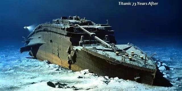 Αυτό ηταν το τέλος του Τιτανικού,έτσι το βρήκαν 73 χρόνια μετά την βύθισή του