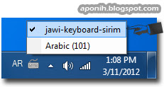 aponih tutorial 2 download dan install program keyboard jawi sirim. Black Bedroom Furniture Sets. Home Design Ideas