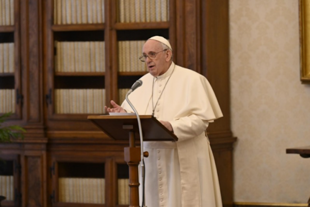 Pope Francis prays for an homeless Nigerian man who was found dead near St. Peter's Square