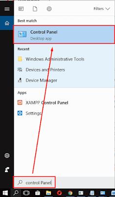 cara mematikan update windows 10 melalui control panel
