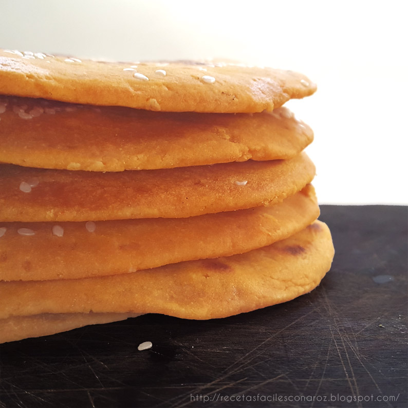 receta pan sin gluten con zapallo