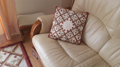 How to change old pillow backings - the easy way!