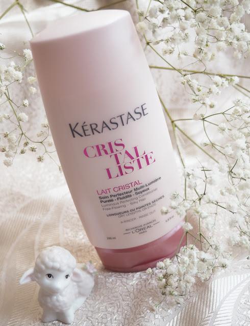 шампунь, бальзам, сыворотка Kérastase Cristalliste Lightweight hair