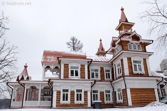 деревянное зодчество в москве