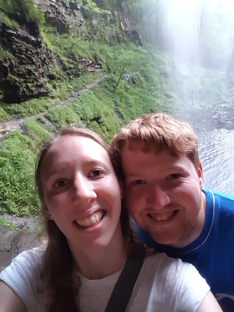 couple, love, waterfall, henrhyd-falls, brecon-beacons