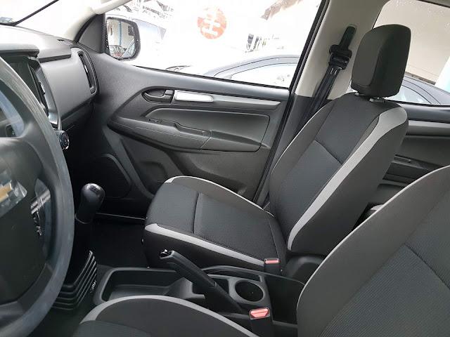 Chevrolet S-10 Cabine Dupla Flex 2017 Advantage - interior