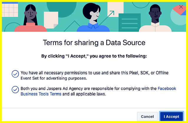 FACEBOOK ADS NEW PIXEL AUTHORIZATION REQUIREMENT FOR MARKETING AGENCIES-Facebook-Pixel-Update
