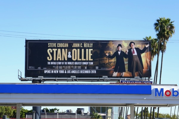 Stan Ollie film billboard