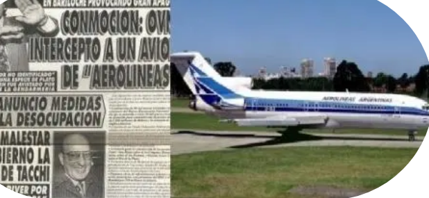 Ministério da defesa da Argentina desclassifica