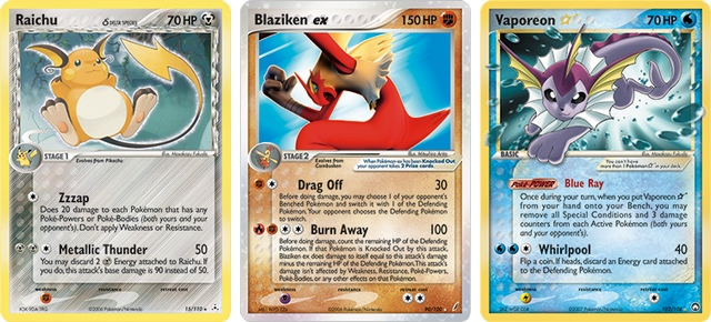 Carta Pokémon TCG Série EX
