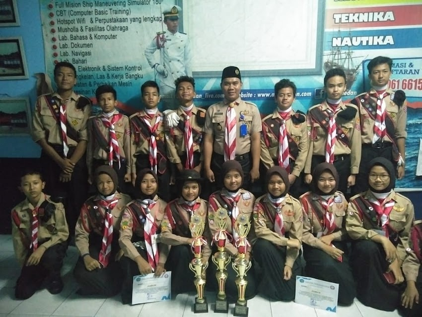 Pramuka SMP Swasta Perguruan Islam An-Nizam  Terus mengukir Prestasi