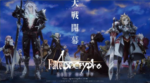 Top Sword Anime Series ( Where the Main Character Uses a Sword) - Fate/Apocrypha