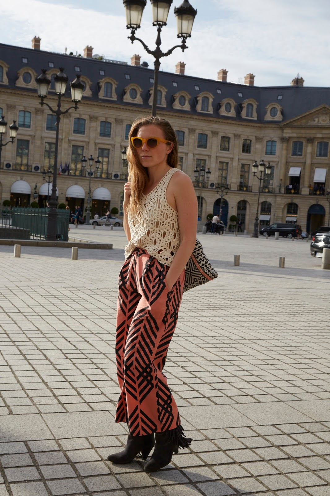 Matter Prints, Trousers, Paris, Watermelon, Artisan, Eco-Friendly, Eco, Ethical, Fairtrade, Slow Fashion, Eco Fashion, Ethical Fashion, Sustainable Fashion, Luxury Fashion, Sustainable, Sustainability, Organic, Organic Cotton, AZO Dye
