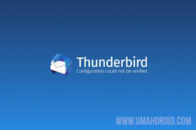 Menggunakan Gmail di Mozilla Thunderbird