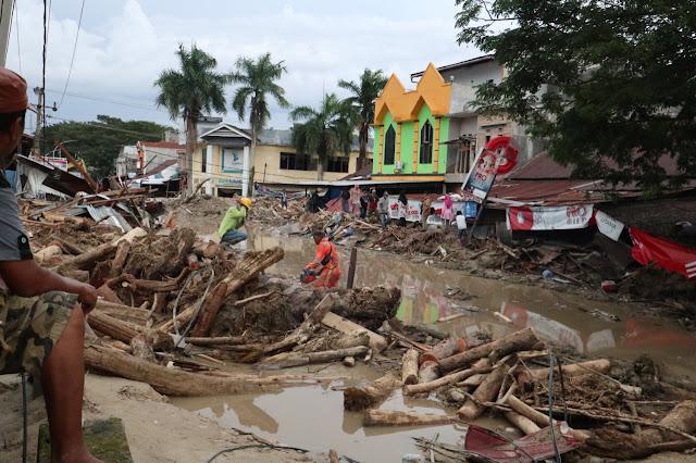 Korban Banjir Luwu Utara Bertambah, 38 Meninggal dan 10 Orang Dilaporkan Hilang