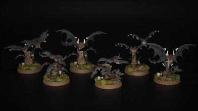Cursed City Bat Swarms