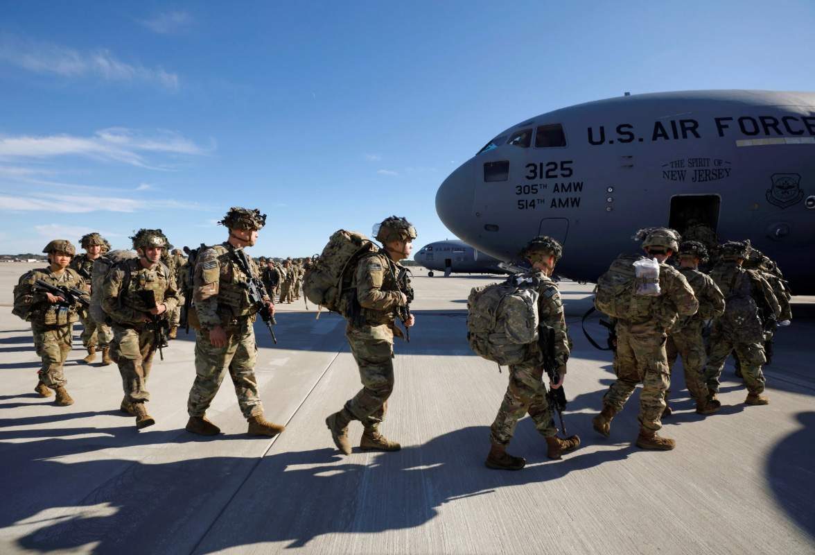 Estados Unidos enviam mais 3 mil soldados ao Oriente Médio