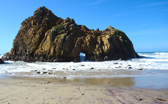Pfeiffer State Beach, Big Sur, Californie, USA