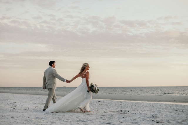 fort myers beach wedding at bowditch park