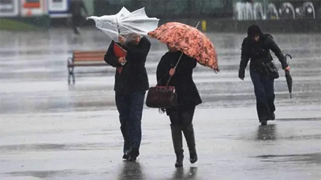 زخات مطرية رعدية قوية وطقس حار بهذه المدن يوم السبت