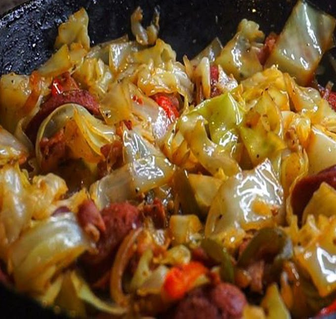EASY FRIED CABBAGE RECIPE