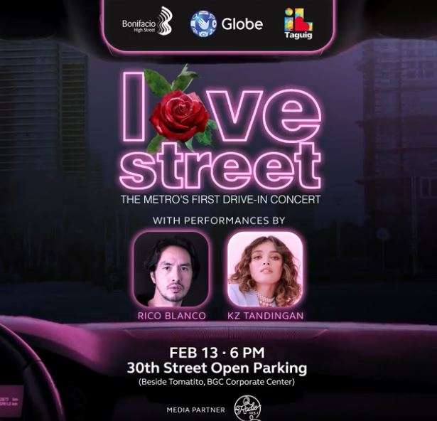 The first-ever drive-in Valentine concert in the metro
