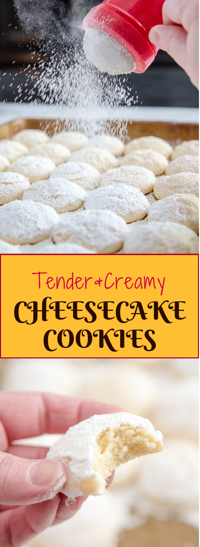 Cheesecake Cookies (Re-do) #cheesecake #dessertsnack