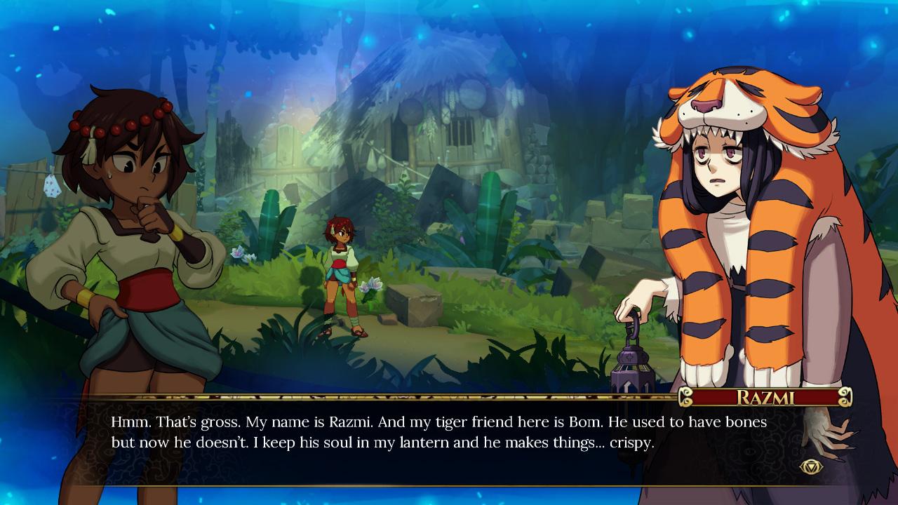 Resultado de imagen de indivisible game screenshots