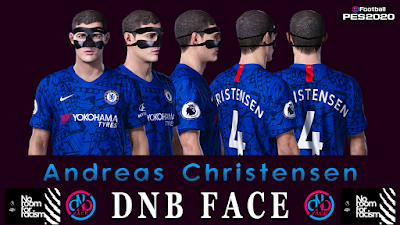 PES 2020 Faces Andreas Christensen by DNB