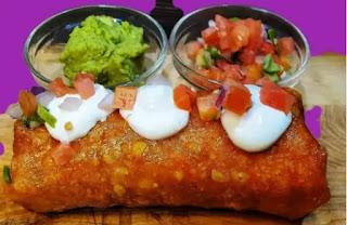 Keto Cheese Beef Burrito