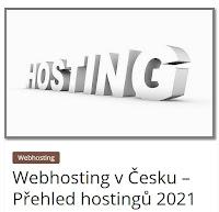 Webhosting v Česku – Přehled hostingů 2021 - AzaŽurnál