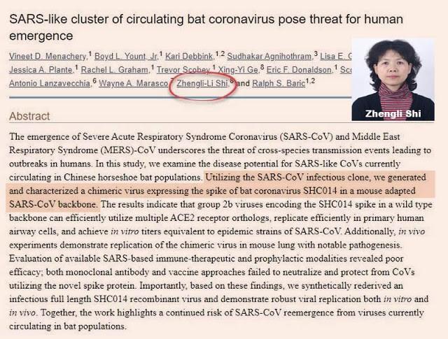 Chân dung Tân GĐ Viện Virus học Vũ Hán: Quan chức quân đội từng công bố nghiên cứu khoa học về viruscorona nhân tạo