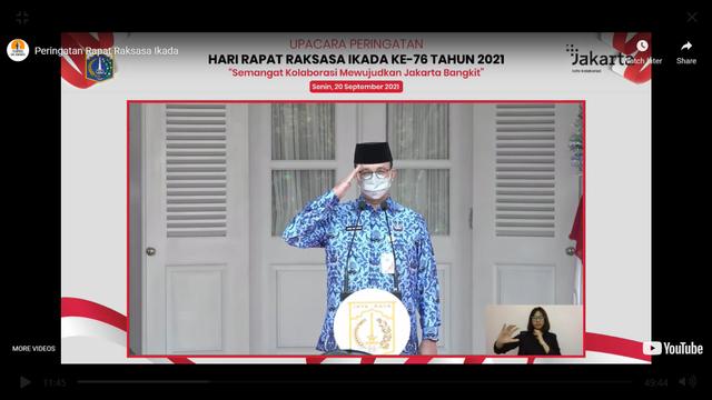 Angka Covid Melonjak lalu Turun Drastis, Anies: Dunia Tercengang Menengok Indonesia