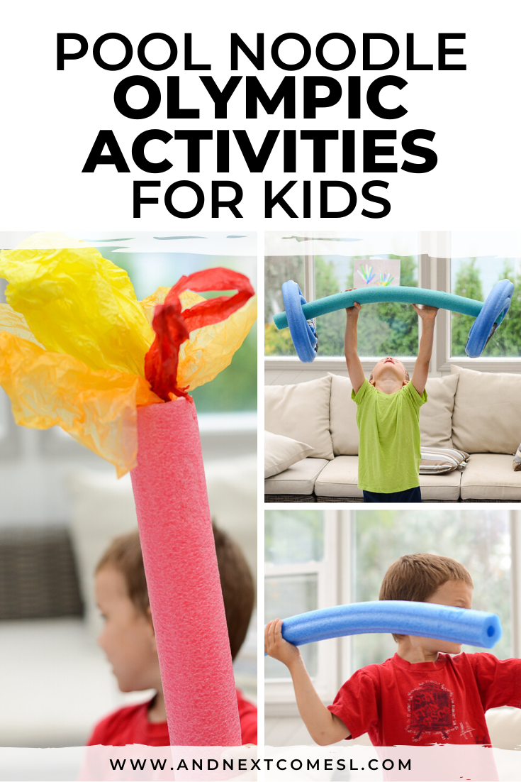 Olympic activities for kids of all ages - even toddlers and preschoolers!