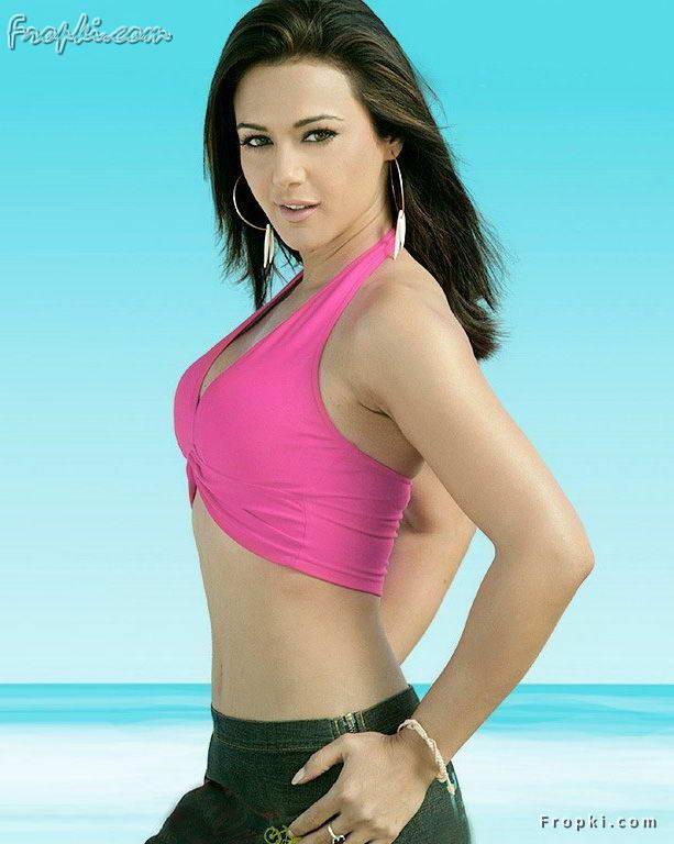 Hot Indian Actress Preity Zinta Hot Sari, Half Sari Photo -3238