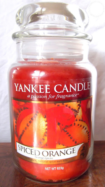 YANKEE CANDLE  - Spiced Orange