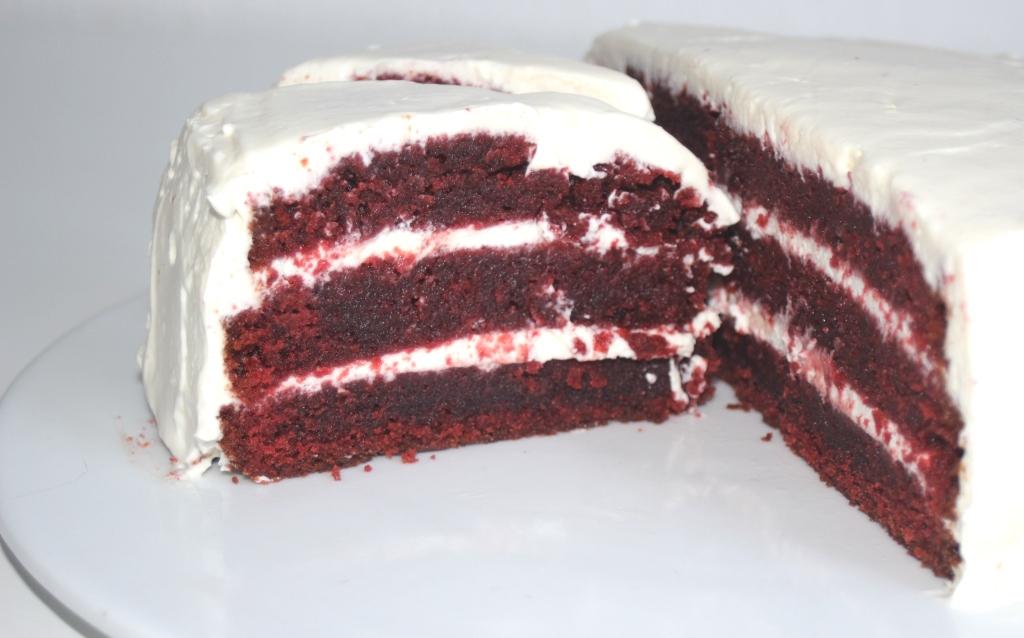 Rezept Red Velvet Cake Das Susse Leben