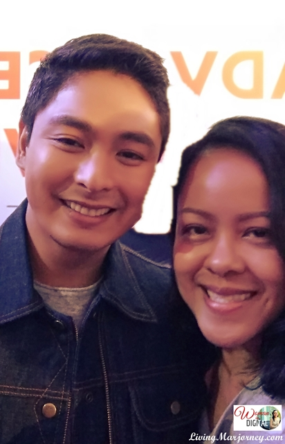 Selfie with Coco Martin