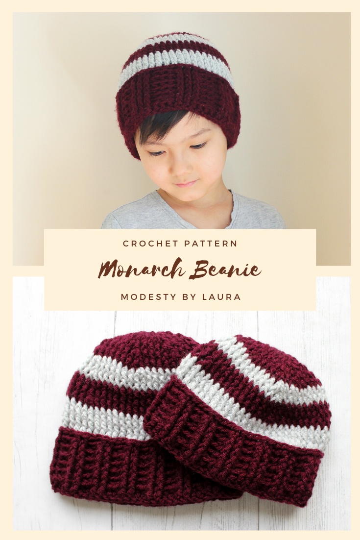 pinterest monarch beanie