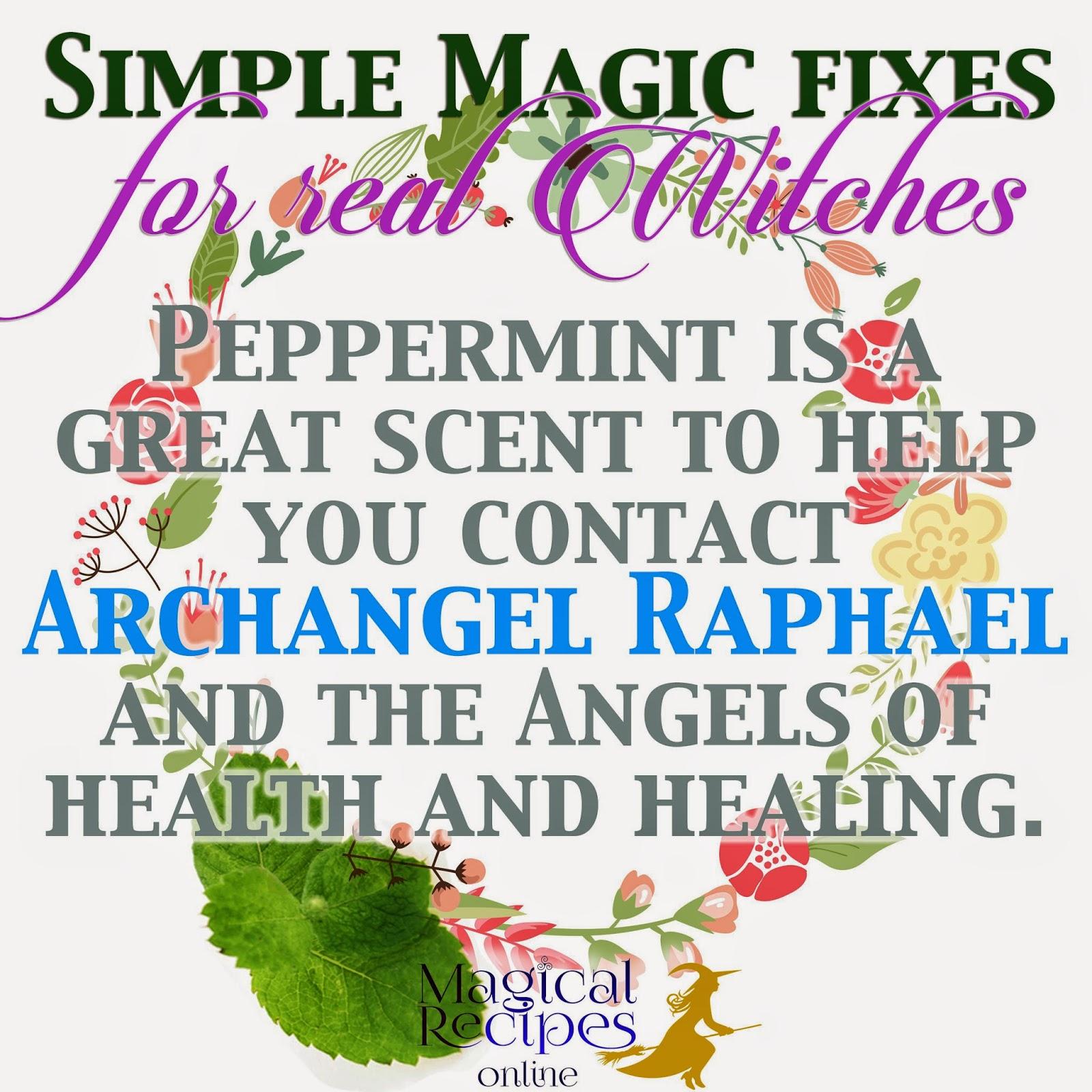 peppermint herbal magic