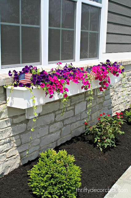 Tips for full and spilling window boxes