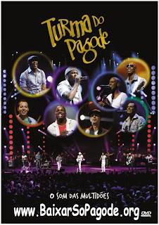 DVD Turma do Pagode - O Som das Multidões AVI-DVD-R(2012)