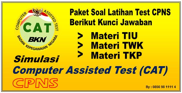 Download Soal Tes CPNS 2019 Pembahasan TIU TWK TKP Berserta Kunci Jawaban