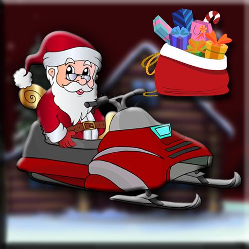 Santa Xmas Gift Bag Escape
