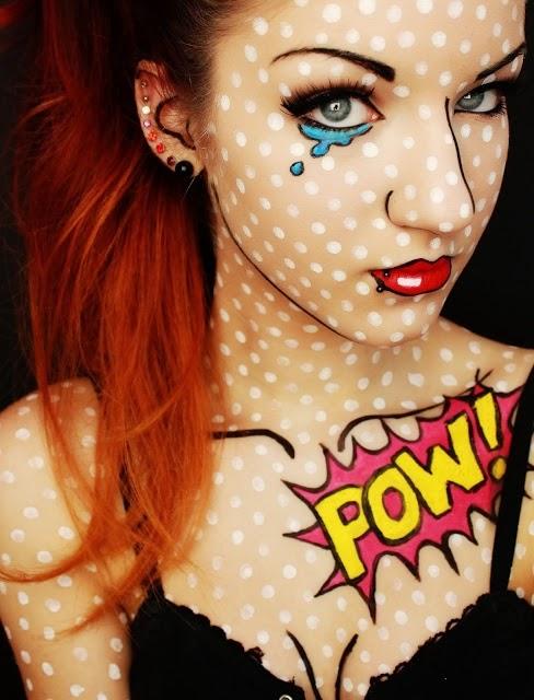 Image result for pop art halloween