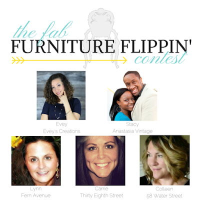 The Fab Furniture Flippin' ™ Contest gals.